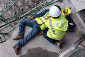 construction site accident fall
